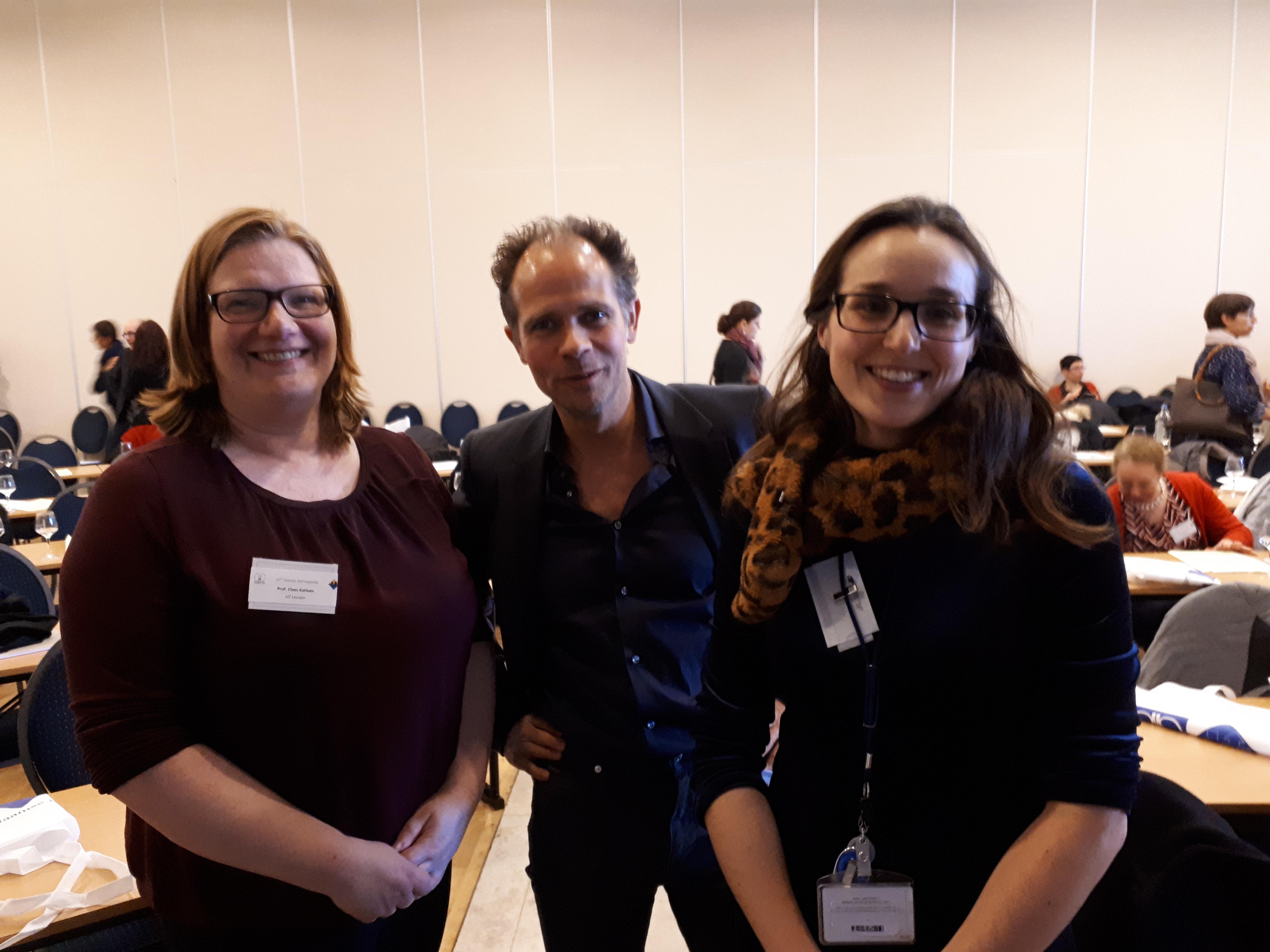 prof. dr. Claes, dr. Lemahieu en dr. Moernaut