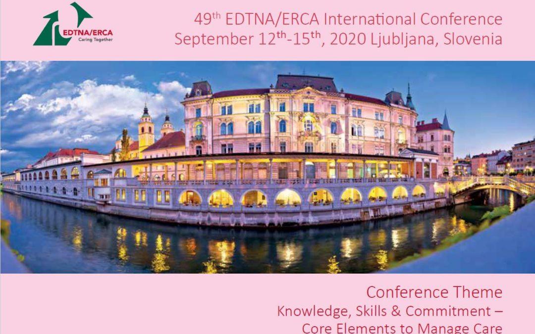 EDTNA/ERCA Congres: Brand Ambassador blikt terug en kijkt vooruit